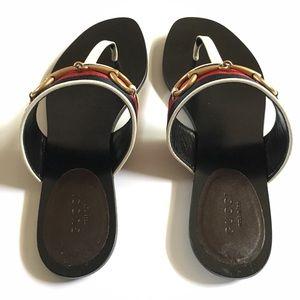 23836196ff7a4 Gucci Shoes - Gucci Querelle Thong sandal Sz 38.5